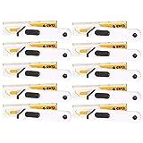 CUTX MULTICUT X5044 - Juego de 10 cúteres de seguridad con retracción automática