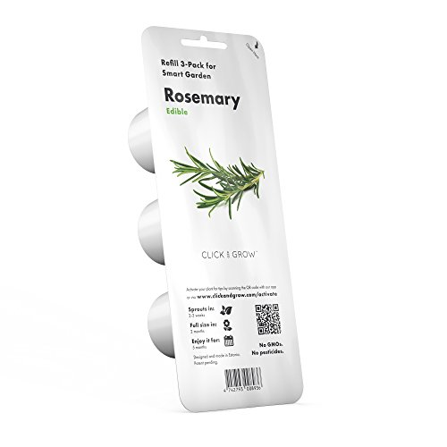 Recharge triple de Romarin pour Smart Garden - Click and Grow