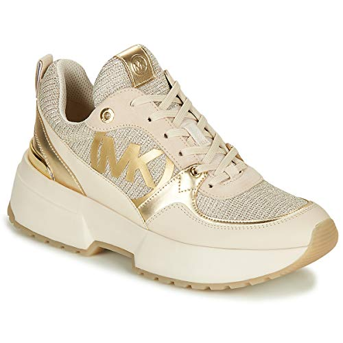Michael Kors Sneaker Low Ballard Trainer Gold Damen - 37,5 EU