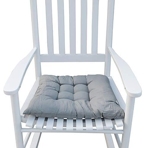 T-ara Suave y Confortable Rocker, actualización Modernistic indifalant de Madera Maciza PORCHO Silla diseño de Moda (Color : White)