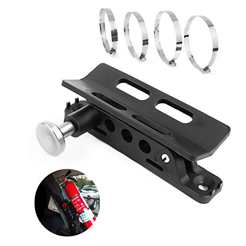 BarBaren Fire Extinguisher Mount Holder Adjustable For Jeep Wrangler TJ JK JKU JL UTVs Polaris RZR Ranger,Home,Boat