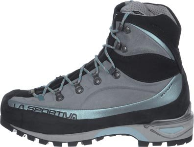 LA SPORTIVA Trango Alp Evo Woman GTX Ice Blue, Chaussures de Randonnée Hautes Femme, Bleu 000, 37.5 EU