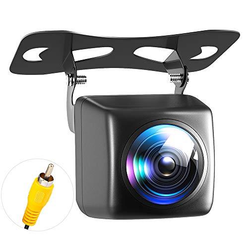 Camera Recul Voiture, Imperméable à l eau HD Night Vision Caméra de Recul et 170 Degrés Grand Angle Antichoc Vision Nocturne