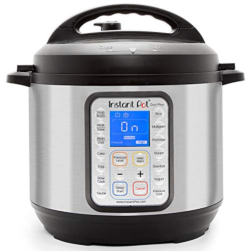 Instant Pot Duo Plus 9-in-1 Electric Pressure Cooker, Slow Cooker, Rice Cooker, Steamer, Saute,...