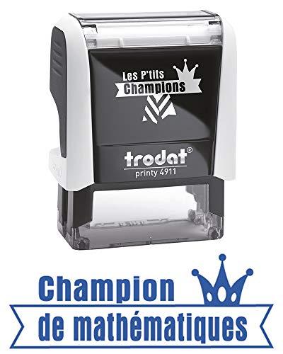 Trodat b14991.10die P 'Tits Champions Stempel Scolaire-Champion Mathematik