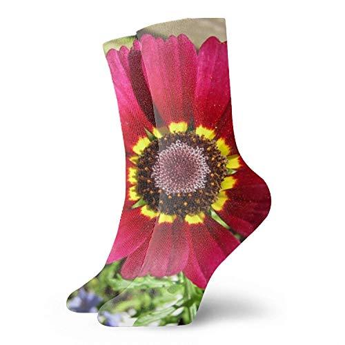 3D Abstract Artistic Art Printing Plum Blossom Vector Unisex Sport Elite Socks
