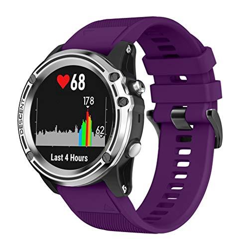 kdjsic Correa de Silicona de liberación rápida de 26MM para Fenix 5X Fenix3 3HR Fenix 5 5X Plus para Garmin Instinct Watch Correa de Reloj de liberación rápida