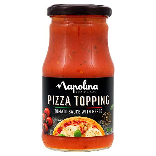 Napolina Pizza Topping Tomate y Hierba, 300g