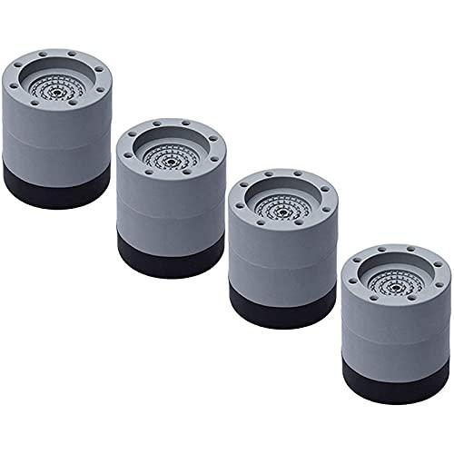 shjjyp 4 Piezas Almohadilla de Goma para Lavadoras Soporte de Goma Antivibración Amortiguador de Vibraciones Universal Almohadilla de Goma antivibración