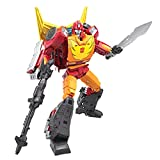 Transformers Toys Generations War for Cybertron: Kingdom Commander WFC-K29 Rodimus Prime with Trailer Action Figure, Kids Ages 8 and Up, 7.5-inch