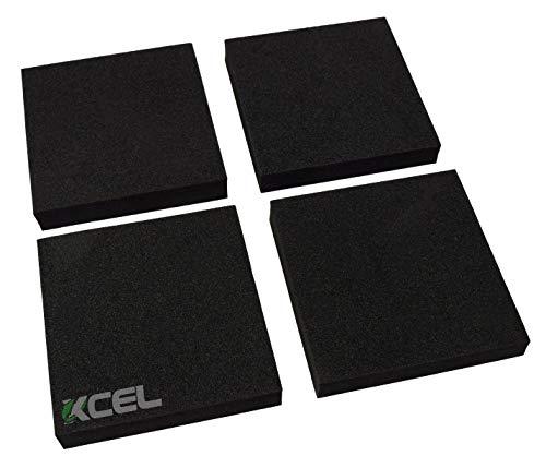 XCEL Lightweight Foam Rubber Anti Vibration Acoustic Pads 6