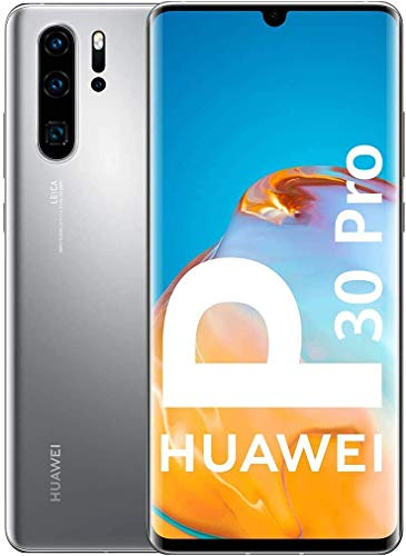 "HUAWEI P30 Pro New Edition 16,4 cm (6.47"") 8 GB 256 GB SIM Doble 4G USB Tipo C Plata 4200 mAh P30 Pro New Edition, 16,4 cm (6.47""), 2340 x 1080 Pixeles, 8 GB, 256 GB, 12 MP, Plata"