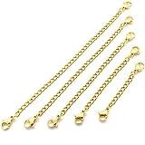 Xinlie Chaîne d'Extension Rallonge de Chaîne Collier Extension Magnetic Clasps Fermoirs ...