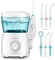 iTeknic Water Flosser for Braces Teeth Cleaning, 600ML Water Flosser Teeth Cleaner for Family, Bridges & Gum Care,...