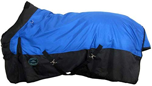 "Showman Waterproof & Breathable 1680 Denier Turnout Blanket! New Horse TACK! (78"")"