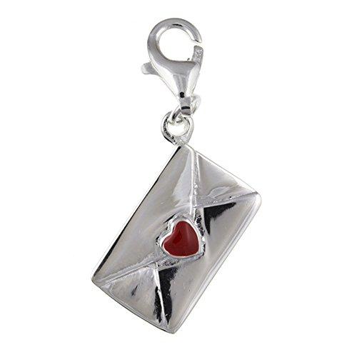 Love Letter Clip-on Charm ciondolo, ciondolo in argento Sterling 925, stile Thomas Sabo–fornito in scatola regalo o regalo borsa