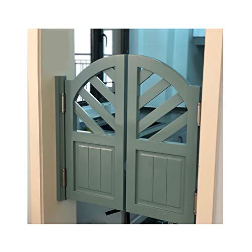 WANGF Porte Battante en Pin avec Fermeture Automatique Porte de Café Salon Entrée de Balcon Porte Battante Caisse Enregistreuse Porte de Séparation de Cuisine