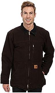 カーハート Carhartt メンズ コート Dark Brown Sandstone Ridge Coat [並行輸入品]