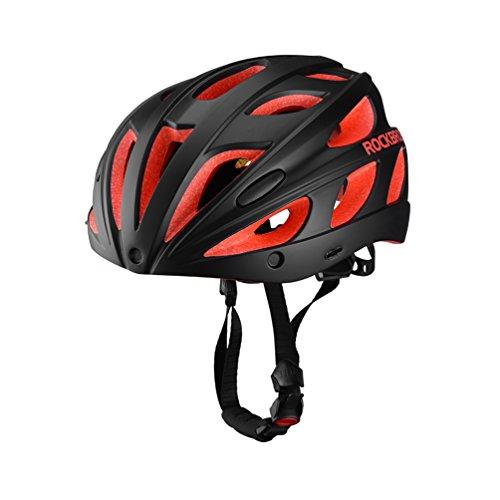 ROCKBROS Casco Integral para Ciclismo Desmontable Ajustable Ultraligero con Visera y...
