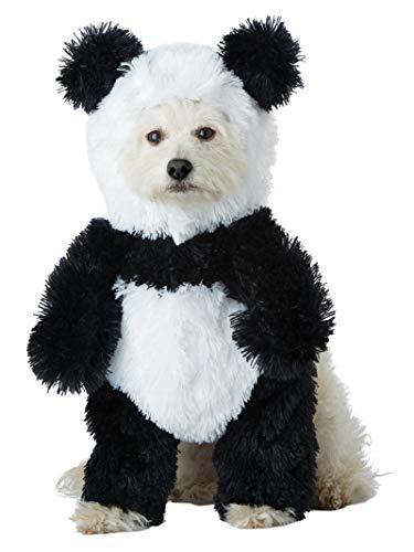 California COLECTIONS Disfraz de Perro Panda Pooch para Mascotas, Negro/Blanco, Grande