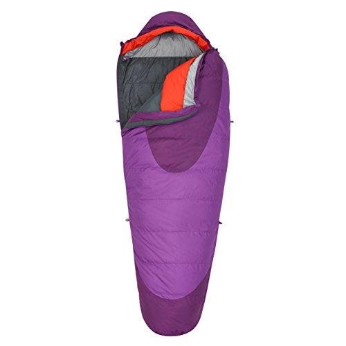 Kelty Women's Cosmic 20 Degree Sleeping Bag, Dahlia/Grape Juice