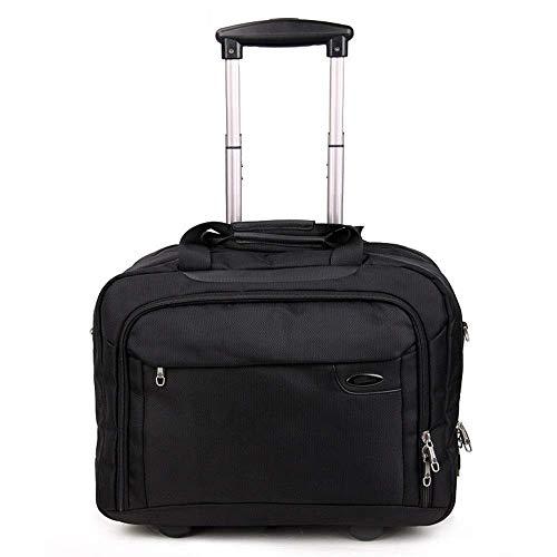 LLKK Juego de equipaje de viaje con maleta expandible de nailon para llevar en equipaje, ligero, bolsa de viaje de negocios, maleta con ruedas giratorias, resistente al agua