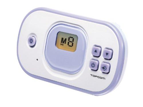 Topcom 1020 BU - Vigilabebés, color blanco