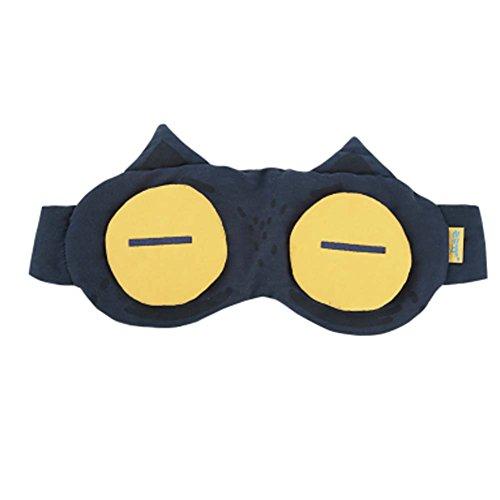 Masque oculaire unisexe Grand cadeau [BIG EYE] Masque oculaire de sommeil confortable Eyeshade