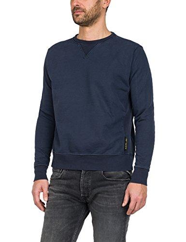 Replay Herren M3675 .000.22512 Sweatshirt, Blau (Blue 86), Small