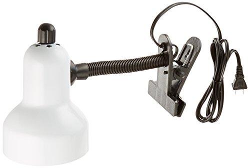 Lite Source LS-111WHT Lámpara de clip, color blanco