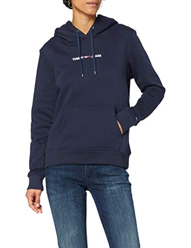 Tommy Jeans Tjw Linear Logo Hoodie, Suéter Mujer
