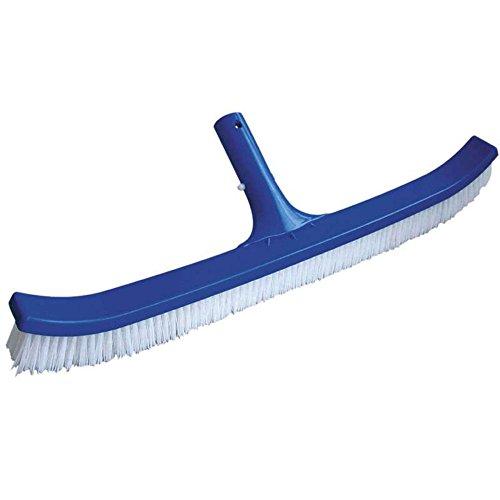 Mareva 05171Cepillo de Nylon Paredes para Piscina, Azul 45cm