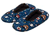 Harry Potter Chibi All Over Print Character Soft Slippers (S/M, Blue)
