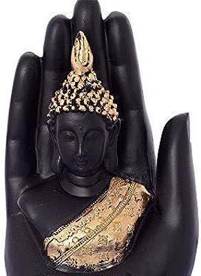 Polyester Palm Buddha (Original) Matt Black