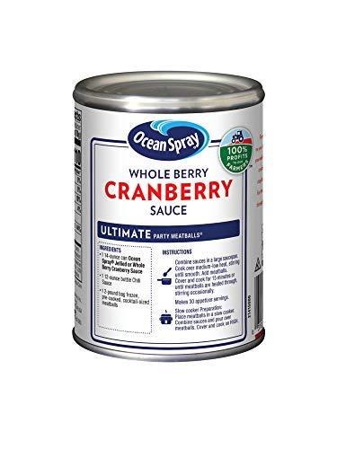 Ocean Spray Cranberry Sauce, Whole Berry, 14 oz