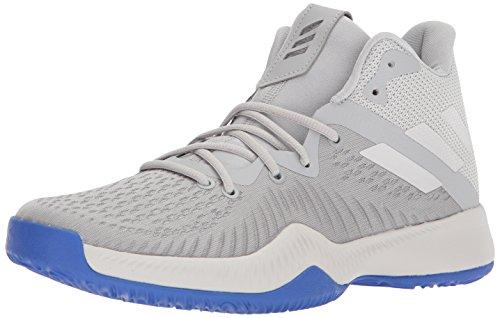 adidas Mad Bounce Basketballschuh für Herren, Grau (Grau Zwei/Grau EIN/Grau DREI), 42 EU