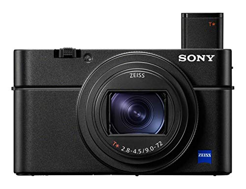 Sony RX100 VII Premium-Kompaktkamera mit gestapeltem CMOS-Sensor (1.0 Typ) (DSCRX100M7)