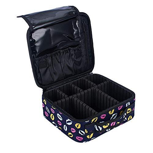 1pc Cosmetische tas Afdrukken Afzonderlijke draagbare toilettas Make-uptasje Waszak voor thuisreizen Zakenreis