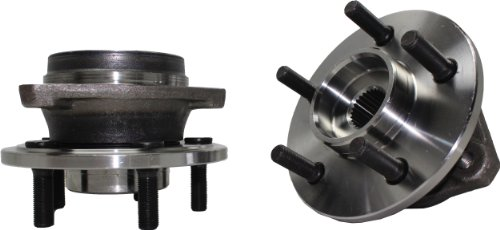 Detroit Axle 513158 Front Wheel Hub and Bearing Assembly For 2000 2002 2003 2004 2005 2006 Jeep Wrangler TJ 1999 2000 2001 Jeep Cherokee