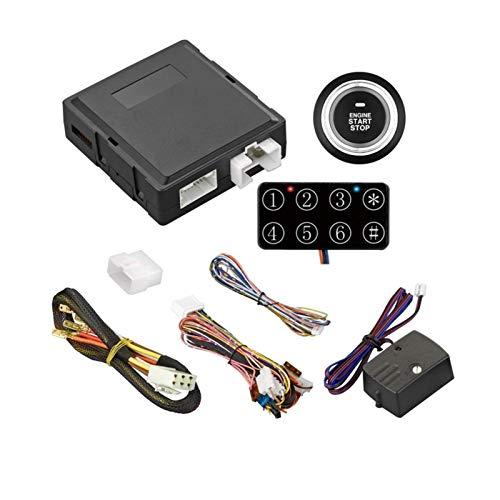 Pulsador RFID/control remoto 3 presione ajuste para el sistema de arranque del motor con limitación de tiempo puede ser habilitado o deshabilitado por el interruptor DIP (APS)