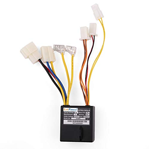 LotFancy 24V Controller with 7 Connectors for Razor Power Core E100 Electric Scooter Only, Model No: ZK2400-DH, Part Number: W13111243015