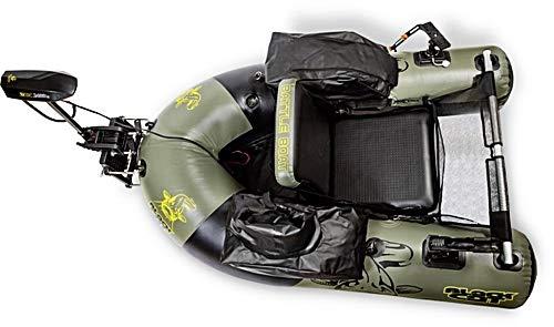 Black Cat Battle Boat komplettes Belly Boot Set mit Motor