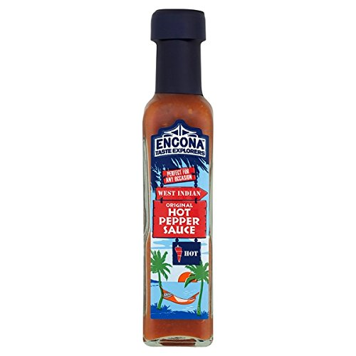 Encona West Indian Original Hot Pepper Sauce 142ml (Packung 6)