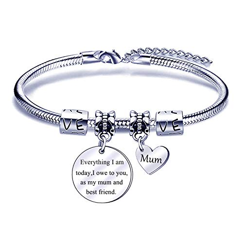 Mum Bracelets Women Jewellery Birthday Christmas Mother' Day Gifts for Mum Mother Mama