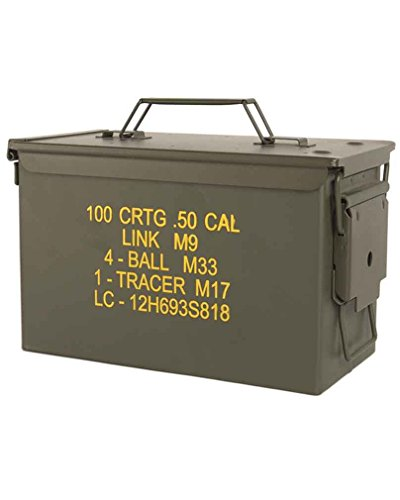 Mil-Tec US Ammo Box Steel m2a1 Cal.50