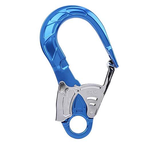 Hakenclip Aluminiumlegierung Snap Lock Hakenclip Absturzsicherung Leichtgewicht Verschleißfestigkeit Sicherheitshaken Hochfest für Bergsteigen und Klettern