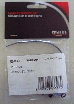 Mares 2.Stufe Service Kit - Travel Kit...