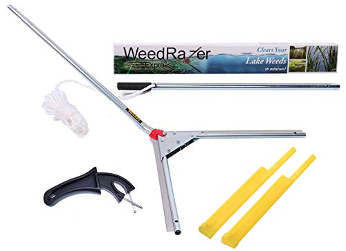 Weed Razer Jenlis Express - Aquatic Weed Cutter for Lakes, Ponds & Beaches
