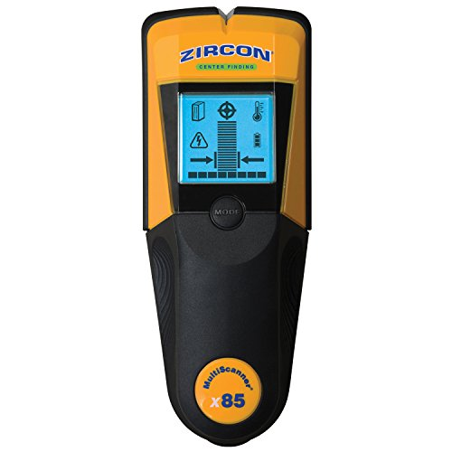 Zircon MultiScanner i520- Center Finding Stud Finder with Metal and Live AC Wire Detection