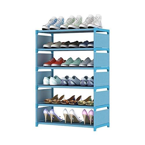 TYLJ MyBHD Multi-Capa Simple Zapatero Almacenamiento de Zapatos (Color : Butterfly 6L Enhance)
